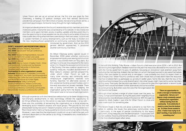 Urban forum report