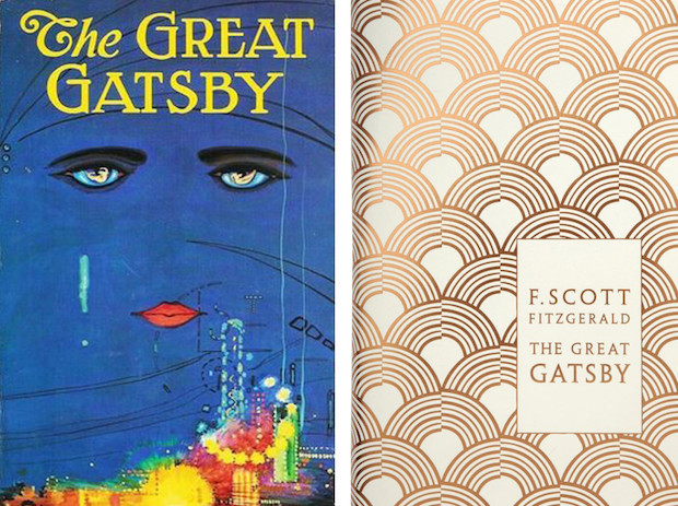 Great Gatsby book covers