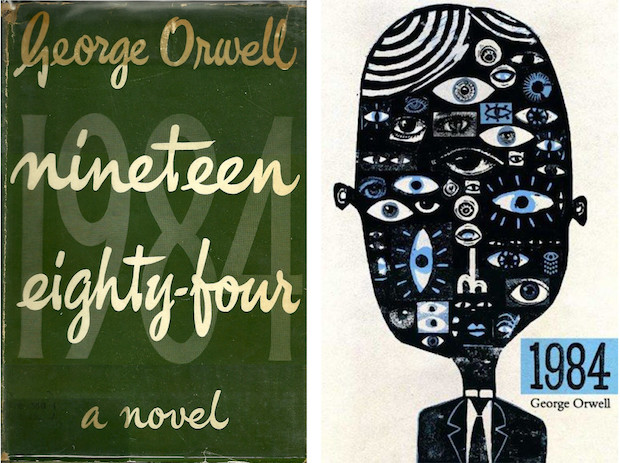 1984 - book covers old new
