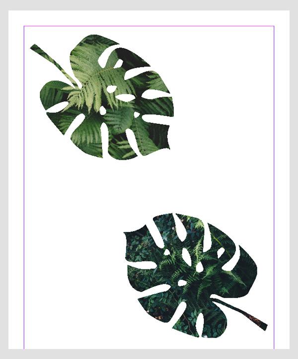 InDesign image masks