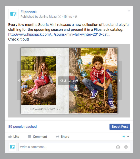 magazine on Facebook