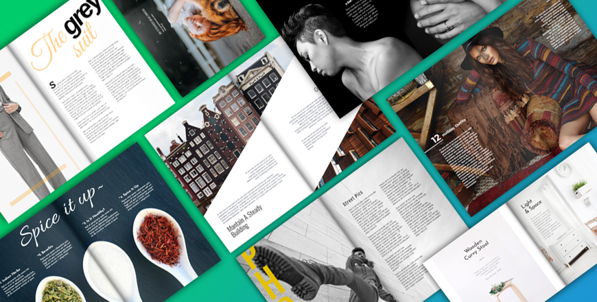 Double Page Layouts In Editorial Design Flipsnack Blog