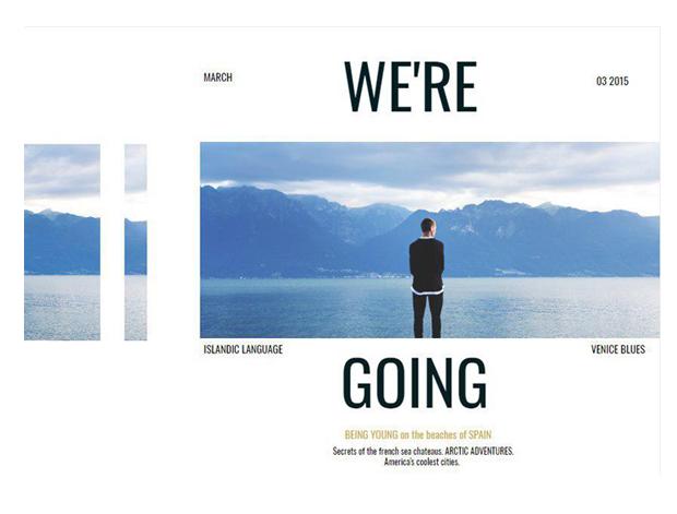 travel brochure template 1