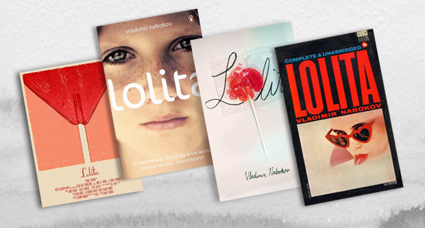 book cover design - lolita