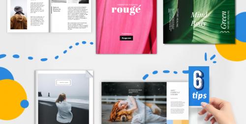 digital portfolio cover