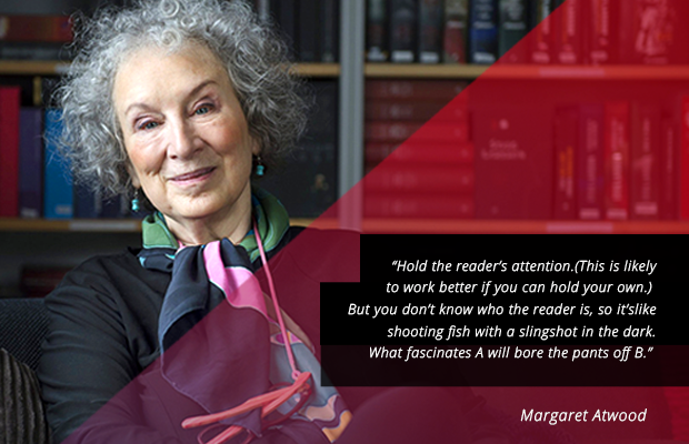 writing tips from margaret atwood