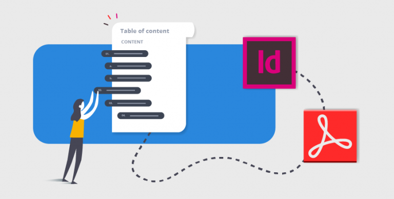 make table of contents InDesign