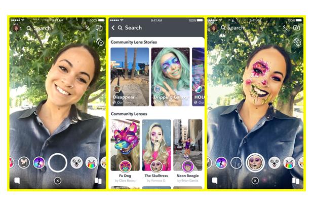 snapchat social media trends