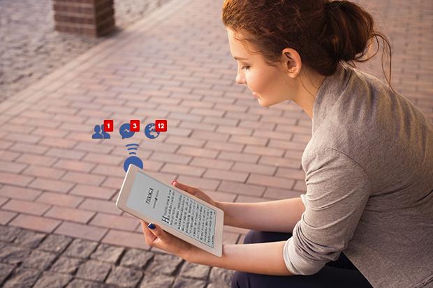 books vs. ebooks shallow reading