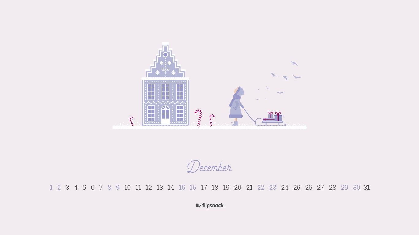 free december 2018 wallpaper calendars - flipsnack blog