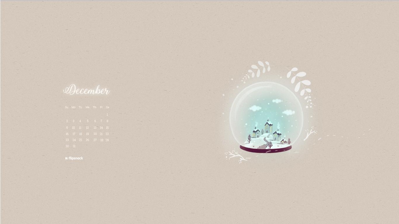 free december 2018 calendar