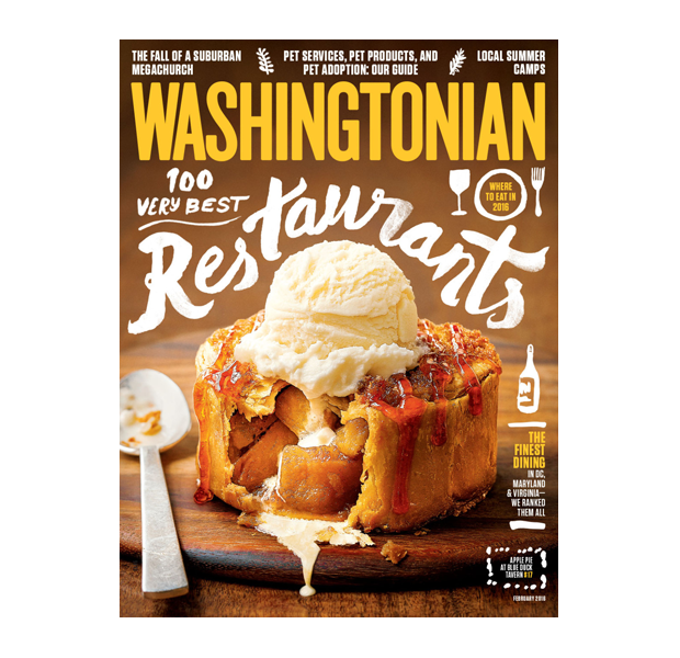 Food magazine cover design