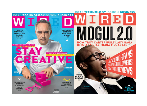 technology magazine cover design examples