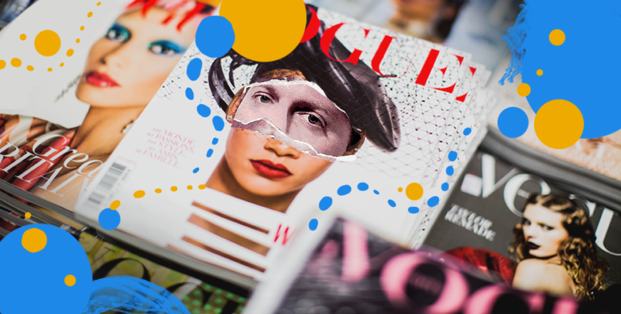 How to improve your magazine cover design. Learn from the professionals