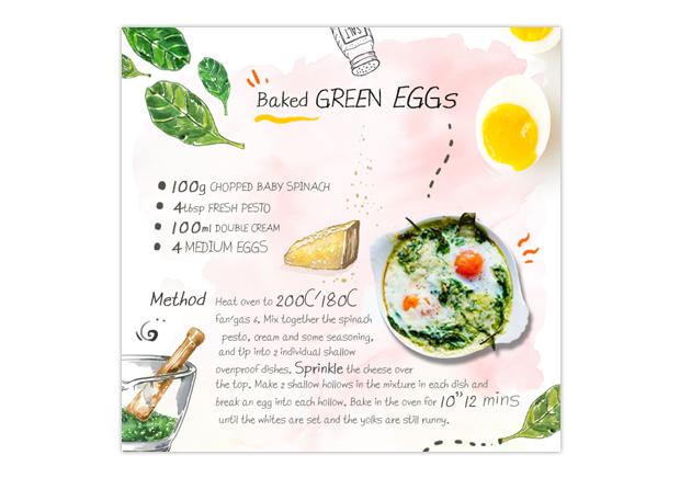 Cookbook recipe example