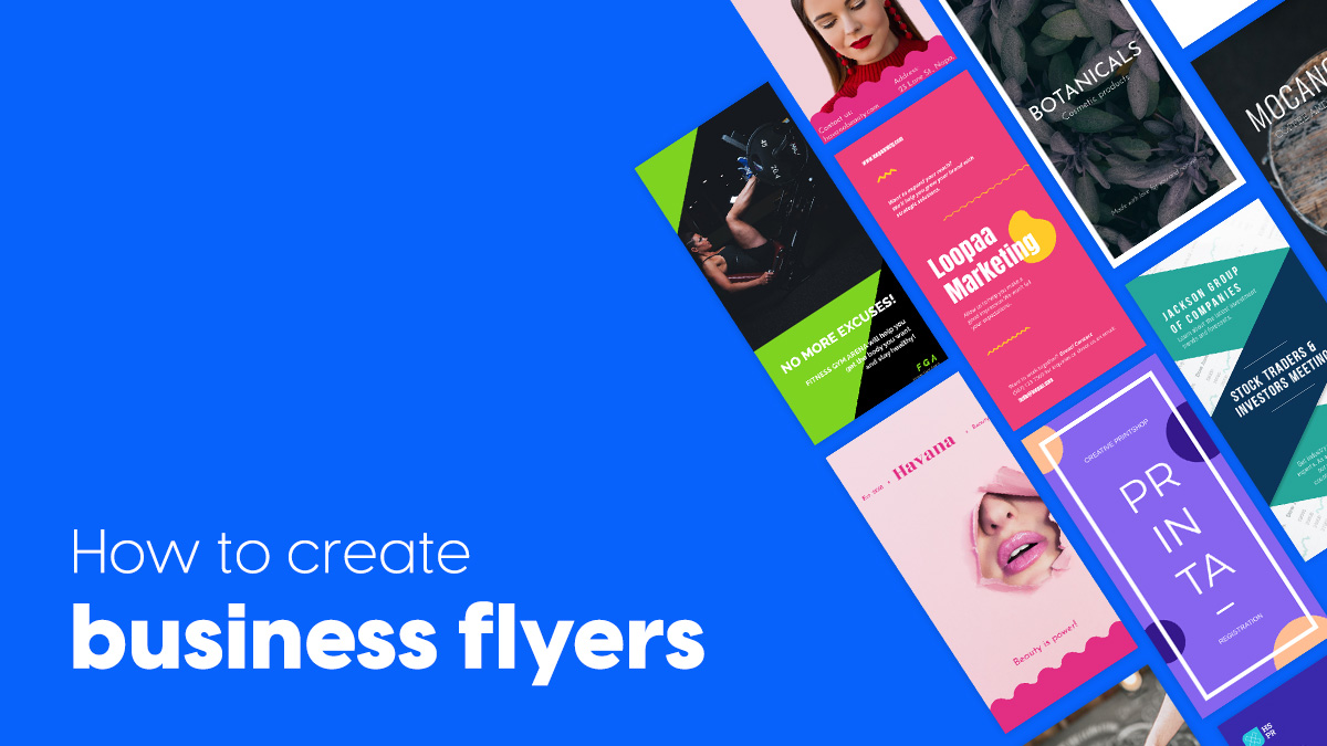 How to create custom business flyers perfect for any industry cover