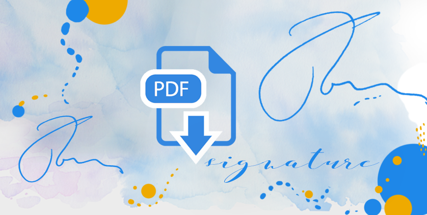 4 easy ways to sign PDF documents