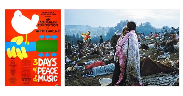 The art of the music festival poster Woodstock
