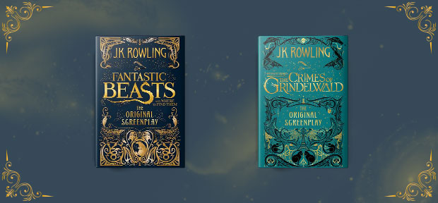 fantastic beasts book cover series design