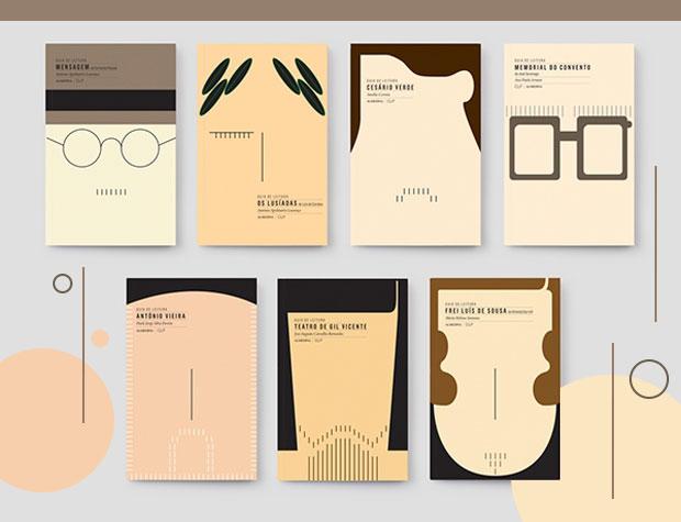 book collection ler melhor book cover series design