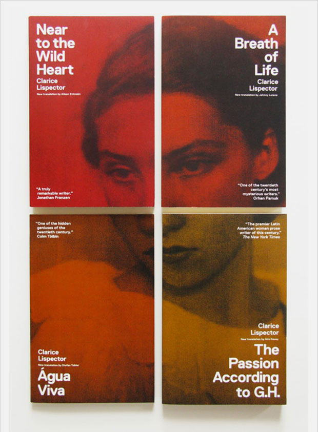 clarice lispector book collection book cover series design