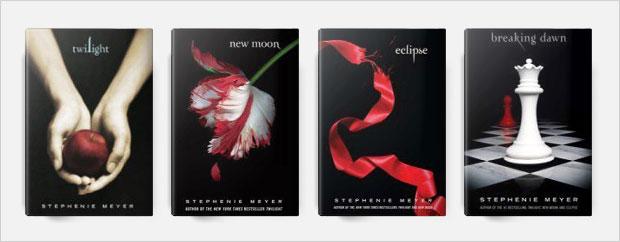 twilight book cover series design