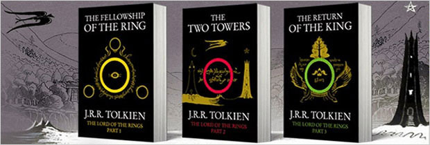 the lord of the rings book cover series design