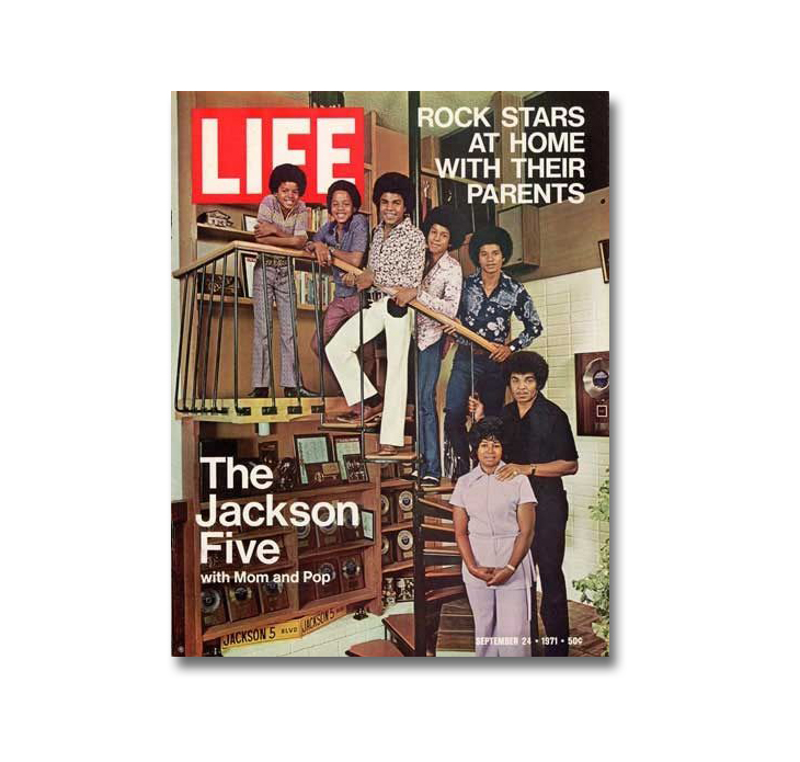 Michael Jackson through magazine covers The Jackson 5