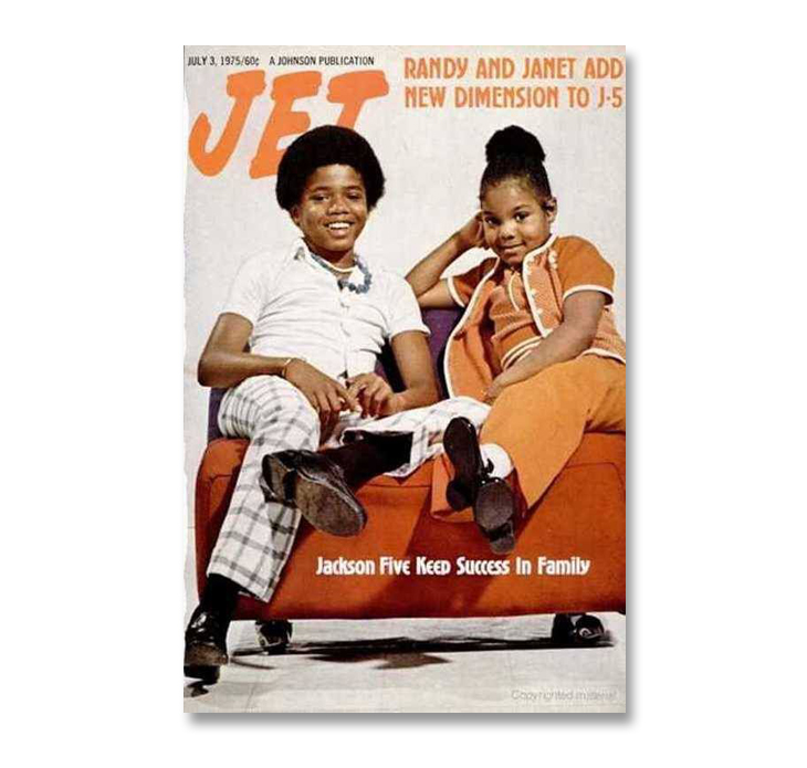 Michael Jackson through magazine covers The Jackson 5 Jet Magazine