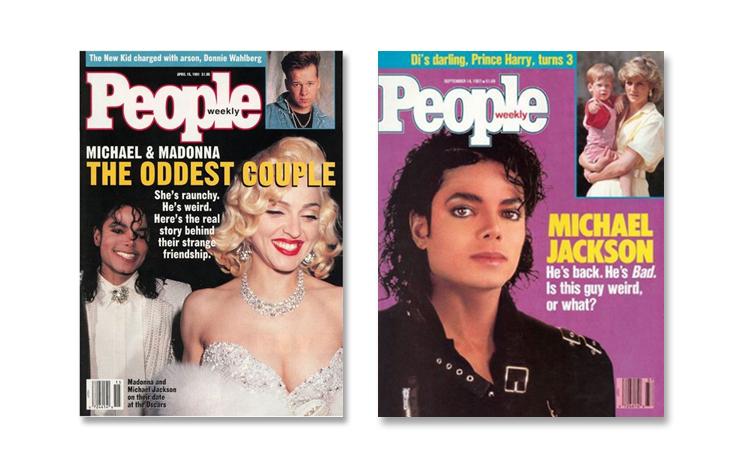 Michael Jackson through magazine covers People magazine