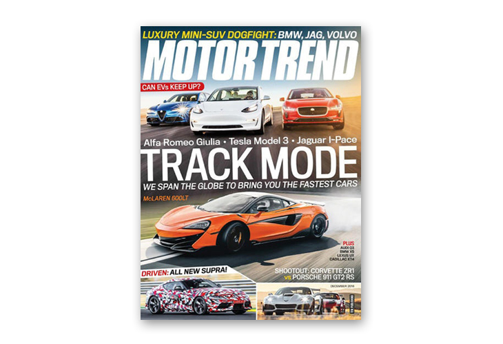 Motor Trend best auto magazine
