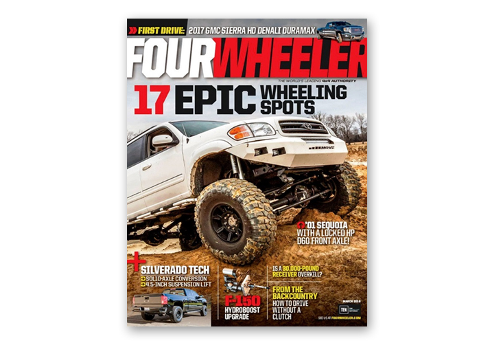 best auto magazines fourwheeler