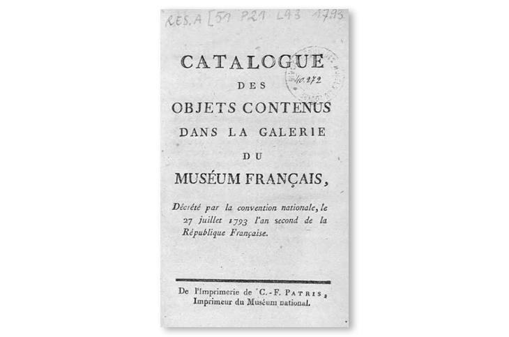 the art of art catalogs louvre