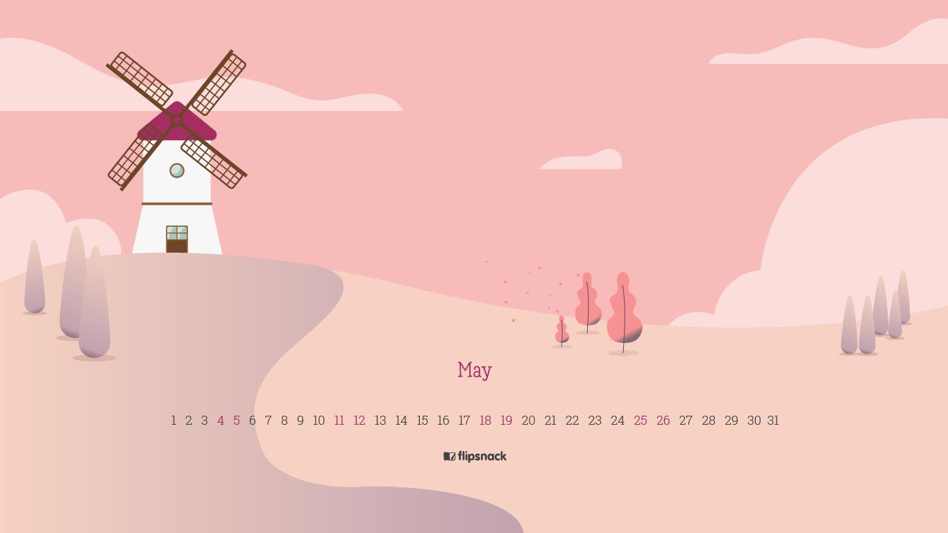 free may 2019 calendar