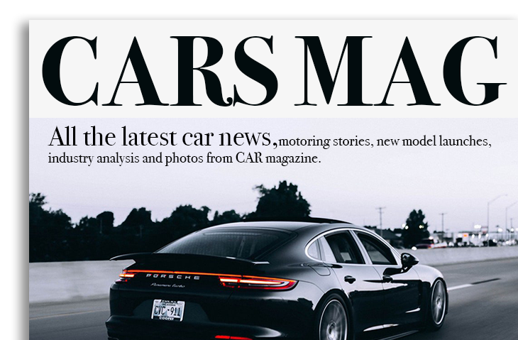 editorial design cars magazine