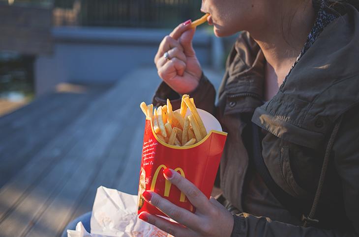 fast food color