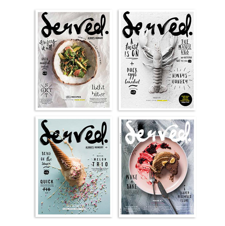 best food magazines of 2019 - served magazine