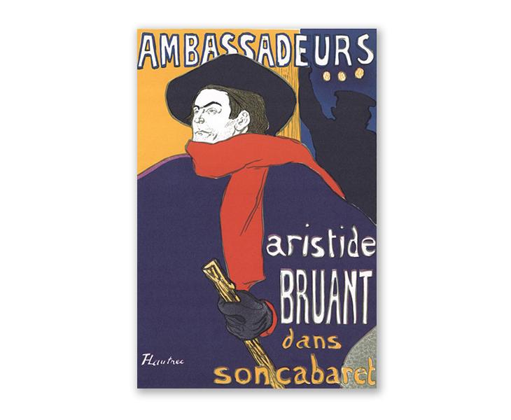 poster design art - Henri de Toulouse- Lautrec