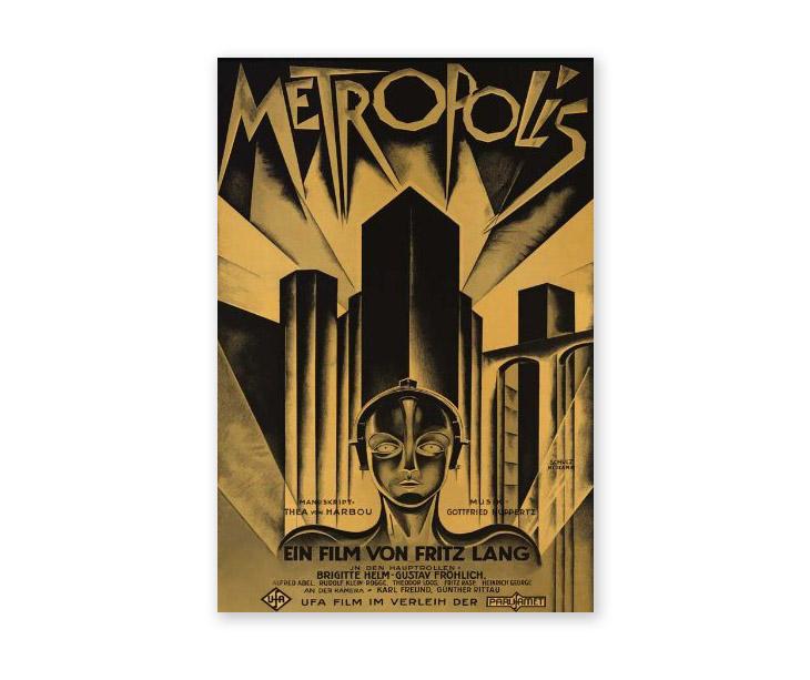 poster design art - metropolis