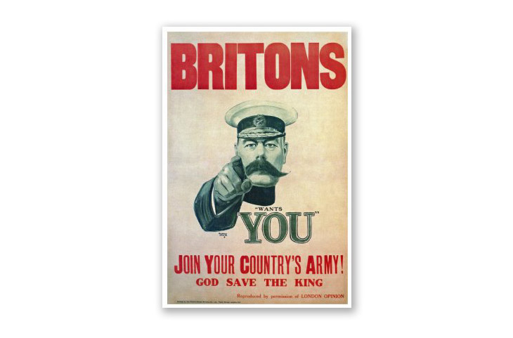history of poster design art - britons want you poster