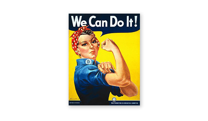 rosie the riveter poster design