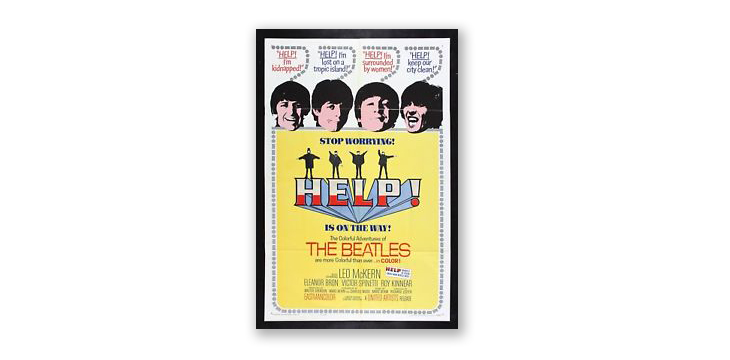 beatles poster design