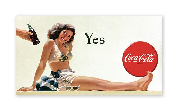 coca cola poster design