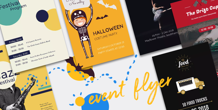 cover event flyer templates