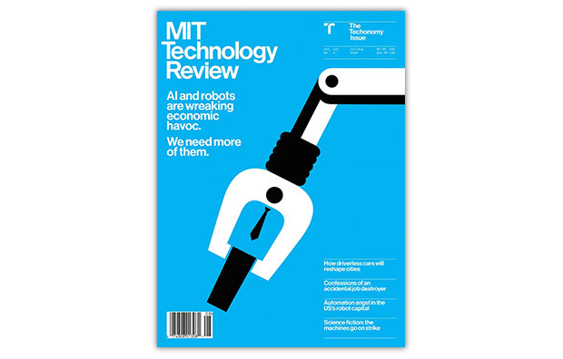 MIT technology review cover