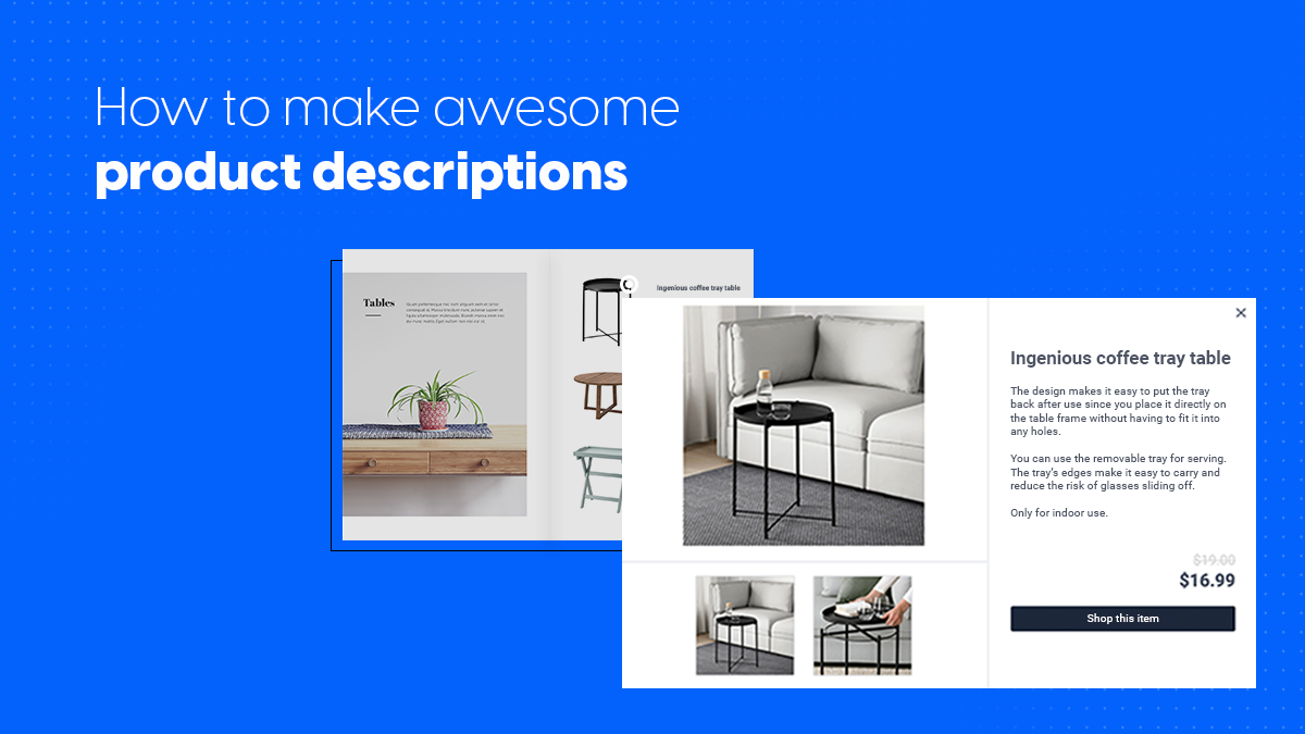 how to make awesome product descriptions front cover