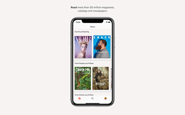 best mobile apps for publishers - issuu