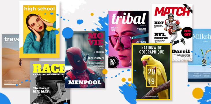 flipsnack magazine templates