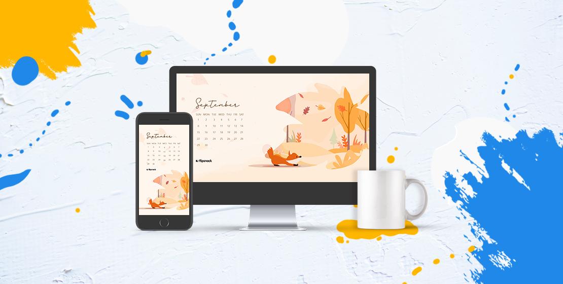 Cover - free september 2019 wallpaper calendars