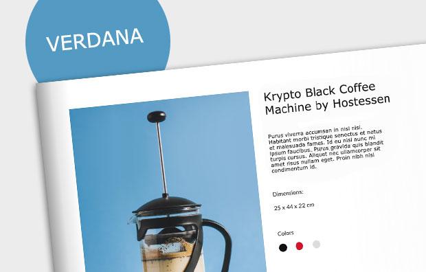 verdana-font-free